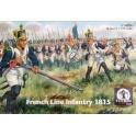 waterloo1815 AP56 Infanterie française 1er empire (avec cdt)