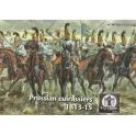 waterloo1815 MAP106 Cuirassiers prussiens 1er empire