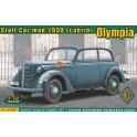 ace 72507 Olympia (cabrio) staff car, mod. 1938