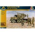 italeri 7508 Autocanon RO3 avec canon 90/53 AA