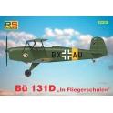 rs 92205 Bucker Bu-131D In Flieger Schulen