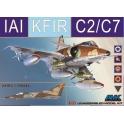Av. garde Amk 86002 IAI C-2/C-7 Kfir