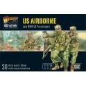WWII US Airborne plastic boxed set