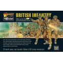 WWII British Infantry plastic boxed set