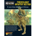 WWII French Army Infantry section