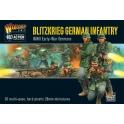 Blitzkrieg German infantry plastic boxed set