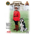 ICM 16008 Officier police montée canadienne + chien