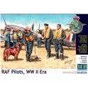 MB 3206 RAF pilots WWII